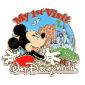 Disney Mickey Pin - My First Visit to Disney World  - 2nd Ed.
