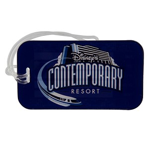 Disney Luggage Tag - Disney's Contemporary Resort Logo