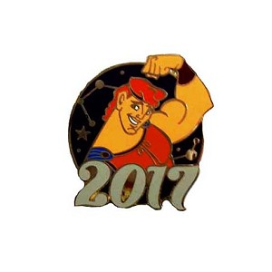 Disney Mystery Pins - 2017 Mickey and Friends - Hercules