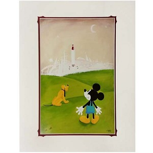 Disney Artist Print - Lift Off by Will Gay