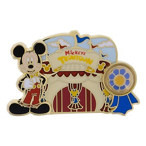 Disney Piece of WDW History Pin - #1 Mickey's Toontown