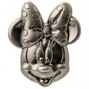 Disney - Mickey & Pals - Pewter Lapel Pin - Minnie Mouse