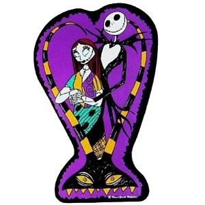 Disney Automotive Car Magnet - NBC Jack Skellington and Sally
