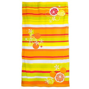 Disney Beach Towel - Mickey Mouse Icon Citrus Beach Towel