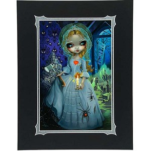 Disney Deluxe Artist Print - The Bride Returns Jasmine Becket-Griffith