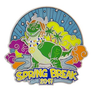 Disney Spring Break Pin - 2017 Rex from Toy Story
