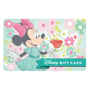 Disney Collectible Gift Card - Floral Dreams - Minnie Mouse