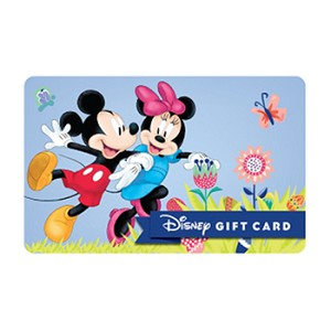 Disney Collectible Gift Card - Springtime Fun - Mickey and Minnie