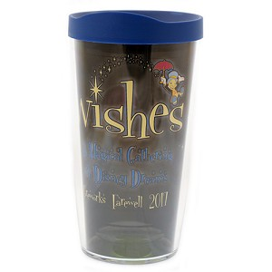 Disney Tervis Tumbler - 2017 Farewell to Wishes
