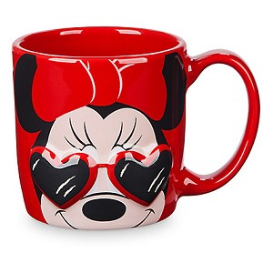 Disney Coffee Cup Mug - Minnie Mouse Dimensional in Sun glasses