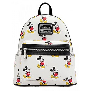 Disney Loungefly Mini Backpack Bag - Classic Mickey Mouse