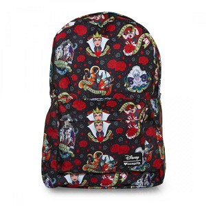 Disney Loungefly Backpack - Villains Tattoo Print