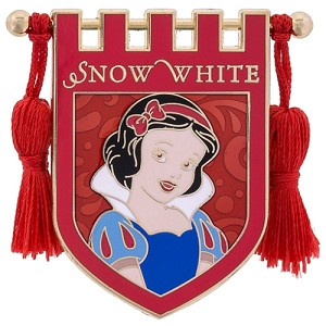 Disney Pin - Princess Snow White Crest Banner with Tassels