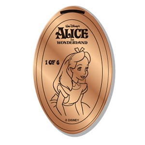 Disney Pressed Penny - Alice In Wonderland - Alice