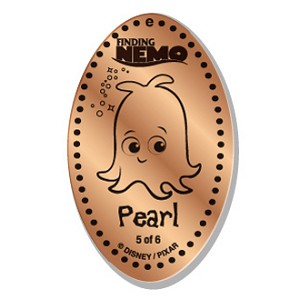 Disney Pressed Penny - Finding Nemo - Pearl