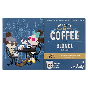 Disney Coffee - Mickey's Really Swell Coffee K-Cup - Blonde Roast