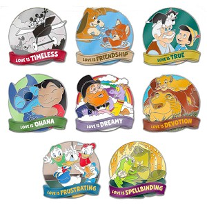Disney Love Is An Adventure Mystery Pin - Love Is… Spellbinding