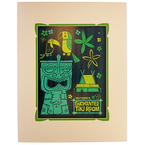 Disney Artist Print - Benjamin Burch - The Enchanted Tiki Room