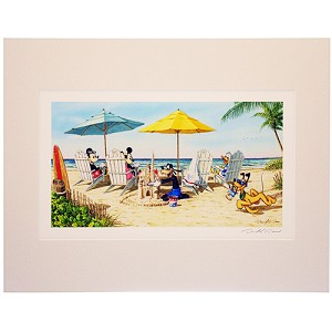 Disney Artist Print - David Doss - A Fabulous Day 11x14