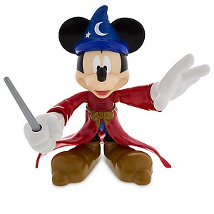 Disney Talking Figure - Sorcerer Mickey Mouse Jumbo Talking