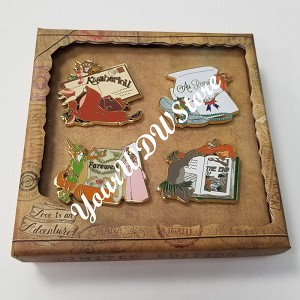 Disney 4 Pin Set - Love Is An Adventure - Farewell Goodbye Boxed