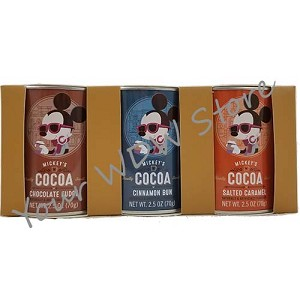 Disney Cocoa - Mickey's Really Swell Sampler Pack - Set of Three