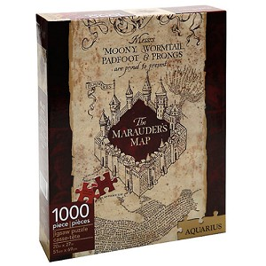 Universal Harry Potter Puzzle - The Marauder's Map