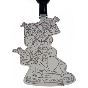 Disney Light Up Lanyard - Hitchhiking Ghosts Ezra Gus and Phineas