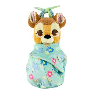 Disney Plush - Baby Bambi in a Blanket Pouch