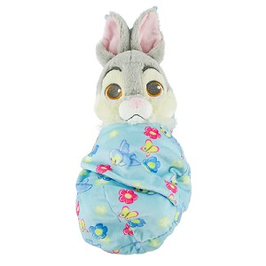 Disney Plush - Baby Thumper in a Blanket Pouch