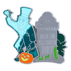 Disney Halloween Pin - 2017 Halloween - Haunted Mansion Phineas
