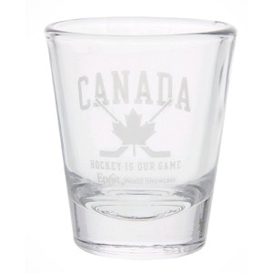 Disney Canada Hockey Mini Glass