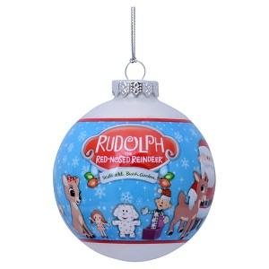SeaWorld Ornament - Rudolph the Red Nosed Reindeer Ball