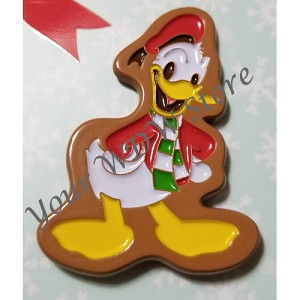 Disney Gift Card Pin - 2017 Holiday Series - Gingerbread Donald Duck