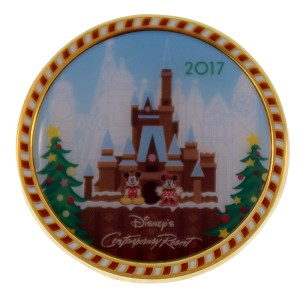 Disney Gingerbread House Pin - Contemporary Resort 2017