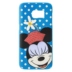 Disney Galaxy S7 Case - Minnie Mouse Jeweled Daisy Hat