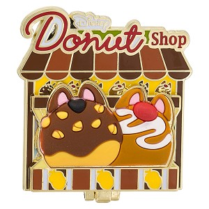 Disney Donut Shop Pin - #06 Chip & Dale