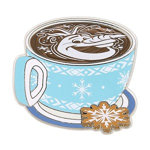 Disney Latte with Character Pin - #08 Olaf