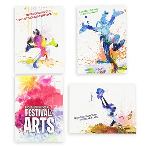 Disney Notecard Set - Epcot Festival of the Arts 2018
