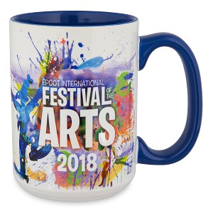 Disney Coffee Cup - Epcot Festival of the Arts 2018