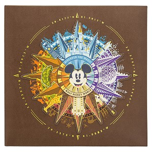 Disney Photo Album - Walt Disney World Mickey Compass