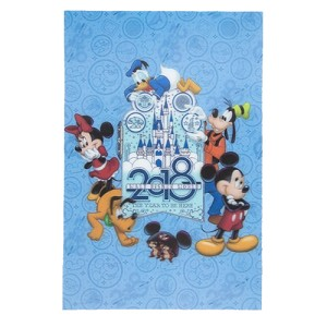 Disney Postcard - 2018 Mickey and Friends - Lenticular