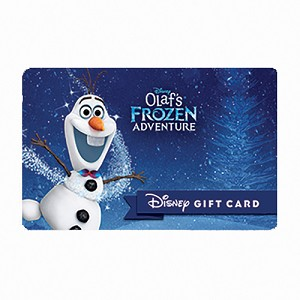 Disney Collectible Gift Card - Olaf's Frozen Adventure