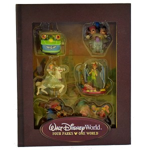 Disney Christmas Ornament Set - Storybook Set - Four Parks One World