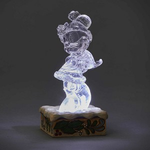 Disney Traditions by Jim Shore - Light Up Ice Bright Minnie Mouse