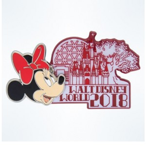 Disney Annual Pin - 2018 Walt Disney World Minnie Mouse Pin