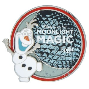 Disney DVC Pin - Moonlight Magic - Epcot Olaf Frozen