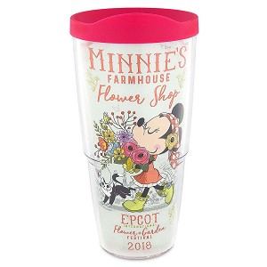 Disney Tervis Tumbler - 2018 Epcot Flower and Garden Festival - Minnie