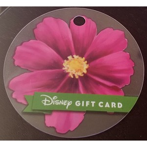 Disney Collectible Gift Card - Flower and Garden Festival - 2018 - Daisy