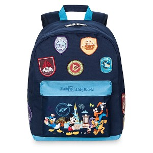 Disney Backpack Bag - Passport Collection - Mickey and Friends